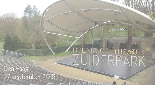 Some Kind of Fire Rose speelt Live @ Zuiderparktheater finale op 27 september 2015